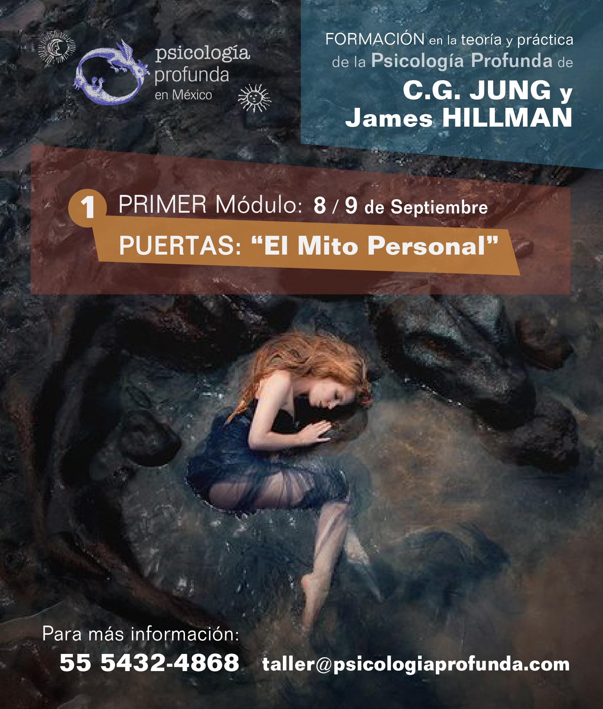 Curso de Formaciòn en Psicologìa Profunda de C.G. Jung y James Hillman en Psicologìa Profunda, impartido por Sven Doehner el 8 y 9 de Septiembre en CDMX